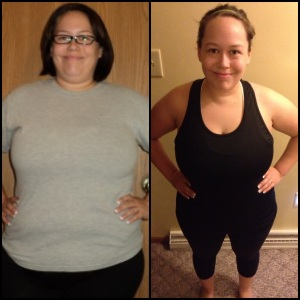 In case you missed it ... Here are my before & after pictures!!